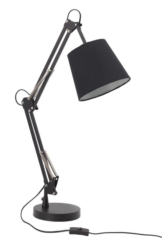 Настольная лампа 92922_06 BrilliantНастольные лампы<br>92922_06 Лампа настольная Dublin, 1x60W E27, метал/текстиль, черная 92922/06. Бренд - Brilliant. материал плафона - ткань. цвет плафона - черный. тип цоколя - E27. тип лампы - накаливания или LED. ширина/диаметр - 600. мощность - 60. количество ламп - 1.<br><br>популярные производители: Brilliant<br>материал плафона: ткань<br>цвет плафона: черный<br>тип цоколя: E27<br>тип лампы: накаливания или LED<br>ширина/диаметр: 600<br>максимальная мощность лампочки: 60<br>количество лампочек: 1