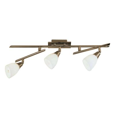 спот 5451-3 GloboСпоты<br>5451-3. Бренд - Globo. материал плафона - стекло. цвет плафона - белый. тип цоколя - E14. тип лампы - накаливания или LED. ширина/диаметр - 610. мощность - 40. количество ламп - 3.<br><br>популярные производители: Globo<br>материал плафона: стекло<br>цвет плафона: белый<br>тип цоколя: E14<br>тип лампы: накаливания или LED<br>ширина/диаметр: 610<br>максимальная мощность лампочки: 40<br>количество лампочек: 3