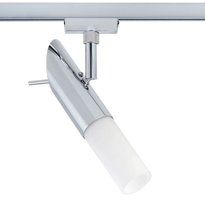 Светильник  96879 Paulmannсветильники<br>Cветильник Spot Pherus для шинной системы U-RAIL 230V1x9W E14 230V хром. Бренд - Paulmann. тип цоколя - E14. тип лампы - накаливания или LED. ширина/диаметр - 40. мощность - 9. количество ламп - 1.<br><br>популярные производители: Paulmann<br>тип цоколя: E14<br>тип лампы: накаливания или LED<br>ширина/диаметр: 40<br>максимальная мощность лампочки: 9<br>количество лампочек: 1