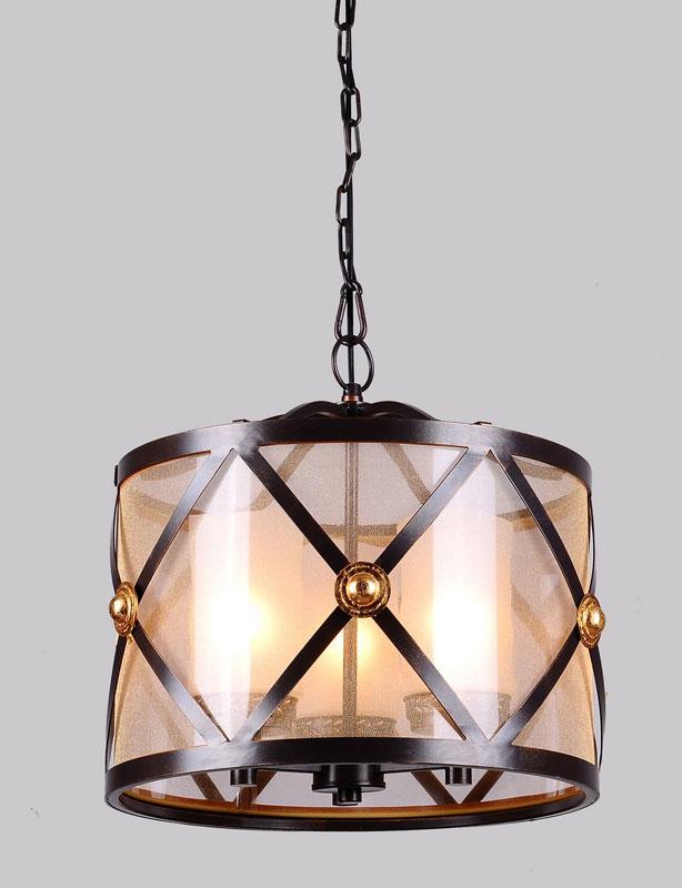 Подвесной  потолочный светильник 1145-3P от Дивайн Лайт