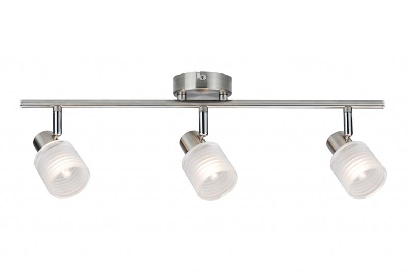 спот 60200 PaulmannСпоты<br>Spotlight Helix LED 3x2,2W G9 Nickel geb. Бренд - Paulmann. материал плафона - стекло. цвет плафона - белый. тип цоколя - G9. тип лампы - галогеновая или LED. ширина/диаметр - 90. мощность - 2. количество ламп - 3.<br><br>популярные производители: Paulmann<br>материал плафона: стекло<br>цвет плафона: белый<br>тип цоколя: G9<br>тип лампы: галогеновая или LED<br>ширина/диаметр: 90<br>максимальная мощность лампочки: 2<br>количество лампочек: 3
