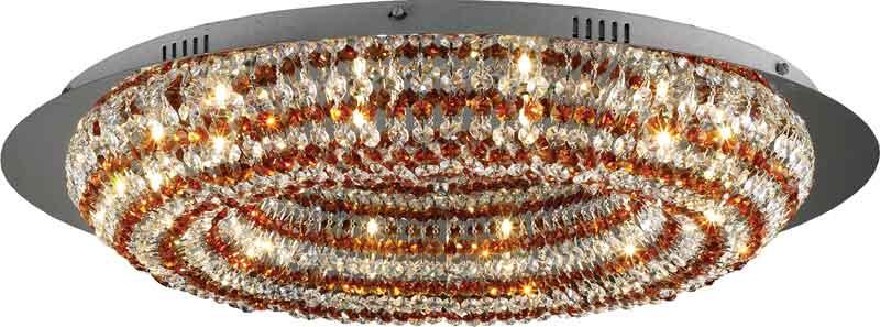 Потолочная люстра накладная 2483/12 chrome, amber and white crystal N-Lightнакладные<br>12x20W,G4,12V<br>D=660mm<br>H=150mm. Бренд - N-Light. материал плафона - хрусталь. цвет плафона - разноцветный. тип цоколя - G4. тип лампы - галогеновая или LED. ширина/диаметр - 660. мощность - 20. количество ламп - 12.<br><br>популярные производители: N-Light<br>материал плафона: хрусталь<br>цвет плафона: разноцветный<br>тип цоколя: G4<br>тип лампы: галогеновая или LED<br>ширина/диаметр: 660<br>максимальная мощность лампочки: 20<br>количество лампочек: 12