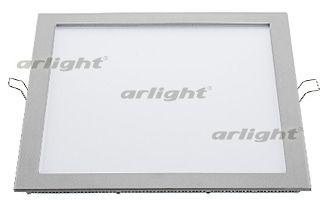 Потолочный светильник 015739 Arlightвстраиваемые<br>Тонкая панель 25Вт / БЕЛЫЙ 6000K / 1800лм / 120°. Размер 300x300x13мм (в отверстие 290x283мм). Корпус квадратный плоский, серебристый. Питание от сети 100-240VAC, драйвер в комлекте (600mA 30-42V).. Бренд - Arlight. материал плафона - пластик. цвет плафона - белый. тип лампы - LED. ширина/диаметр - 300. мощность - 25.<br><br>популярные производители: Arlight<br>материал плафона: пластик<br>цвет плафона: белый<br>тип лампы: LED<br>ширина/диаметр: 300<br>максимальная мощность лампочки: 25