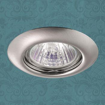 Точечный светильник 369115 Novotechвстраиваемые<br>369115 NT09 305 никель Встраиваемый НП GX5.3 50W 12V TOR. Бренд - Novotech. тип цоколя - GX5.3. тип лампы - галогеновая или LED. ширина/диаметр - 80. мощность - 50. количество ламп - 1.<br><br>популярные производители: Novotech<br>тип цоколя: GX5.3<br>тип лампы: галогеновая или LED<br>ширина/диаметр: 80<br>максимальная мощность лампочки: 50<br>количество лампочек: 1