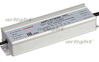 блок питания DC 020172 Arlightблоки питания DC<br>Блок питания 24V,ток 10А, 240Вт, герметичный, для светодиодных изделий. Алюминиевый корпус IP67. Габариты L244xW68xH40mm. Вход 100-240V AC, выход 24V DC +-3%, корректор мощности PFC&gt;0,99. Диапазон раб. темп. -40..+70 С. Гарантия 5 лет. Бренд - Arlight. ширина/диаметр - 68. мощность - 240.<br><br>популярные производители: Arlight<br>ширина/диаметр: 68<br>максимальная мощность лампочки: 240