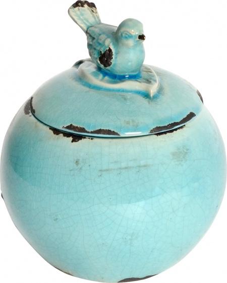 Декоративная банка Furla Blue DG-HOME от Дивайн Лайт
