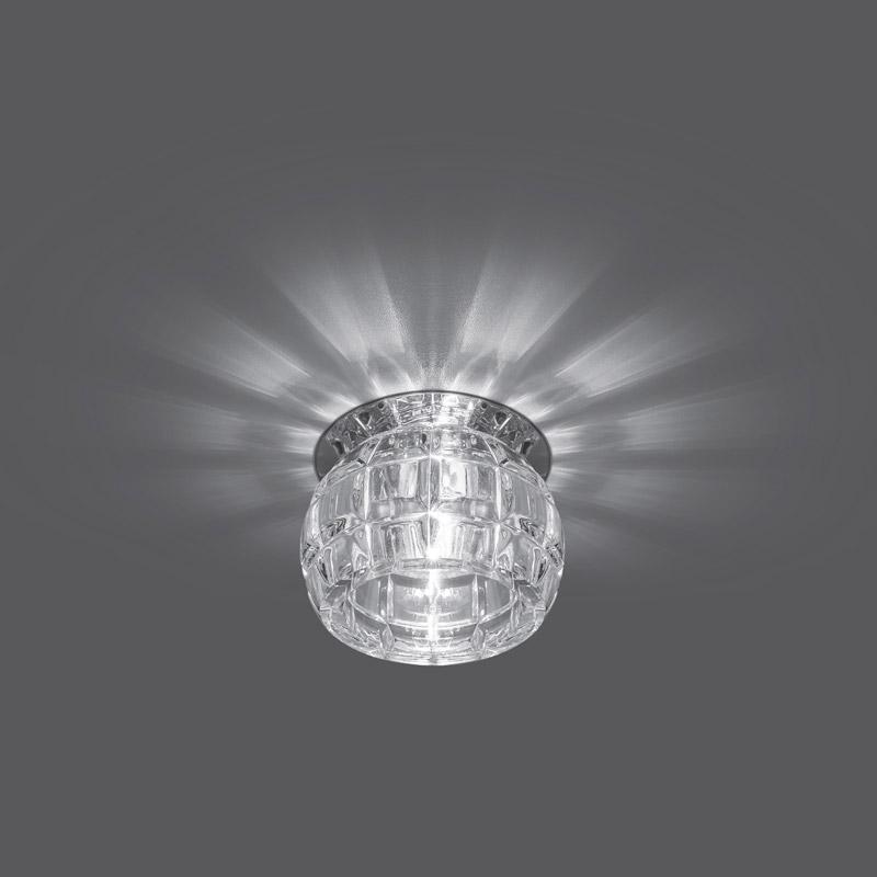 Точечный светильник CR002встраиваемые<br>Светильник Gauss Crystal CR002, G9 1/30. Бренд - Gauss. тип лампы - галогеновая или LED. количество ламп - 1. тип цоколя - G9. мощность лампы - 50. цвет арматуры - хром. цвет плафона - прозрачный. материал арматуры - металл. материал плафона - стекло. высота - 75. ширина/диаметр - 80. длина - 80. степень защиты ip - 20. форма - круг. стиль - модерн. страна происхождения - Китай. монтажное отверстие - 50. коллекция - CRYSTAL. напряжение - 220.<br><br>Бренд: Gauss<br>тип лампы: галогеновая или LED<br>количество ламп: 1<br>тип цоколя: G9<br>мощность лампы: 50<br>цвет арматуры: хром<br>цвет плафона: прозрачный<br>материал арматуры: металл<br>материал плафона: стекло<br>высота: 75<br>ширина/диаметр: 80<br>длина: 80<br>степень защиты ip: 20<br>форма: круг<br>стиль: модерн<br>страна происхождения: Китай<br>монтажное отверстие: 50<br>коллекция: CRYSTAL<br>напряжение: 220