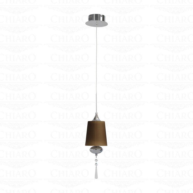 Подвесной  потолочный светильник 392011901 Chiaroподвесные<br>392011901. Бренд - Chiaro. материал плафона - стекло. цвет плафона - коричневый. тип цоколя - G4. тип лампы - галогеновая или LED. ширина/диаметр - 120. мощность - 20. количество ламп - 1.<br><br>популярные производители: Chiaro<br>материал плафона: стекло<br>цвет плафона: коричневый<br>тип цоколя: G4<br>тип лампы: галогеновая или LED<br>ширина/диаметр: 120<br>максимальная мощность лампочки: 20<br>количество лампочек: 1