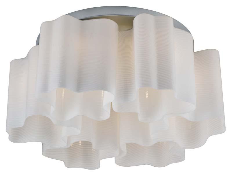 Потолочная люстра накладная SL117.502.06 ST-Luceнакладные<br>Светильник потолочный. Бренд - ST-Luce. материал плафона - стекло. цвет плафона - белый. тип цоколя - E27. тип лампы - накаливания или LED. ширина/диаметр - 520. мощность - 60. количество ламп - 6.<br><br>популярные производители: ST-Luce<br>материал плафона: стекло<br>цвет плафона: белый<br>тип цоколя: E27<br>тип лампы: накаливания или LED<br>ширина/диаметр: 520<br>максимальная мощность лампочки: 60<br>количество лампочек: 6