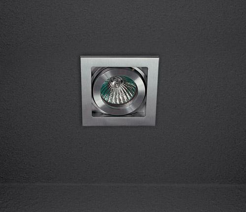 Потолочный светильник Soft L 555.11 SDM Luceвстраиваемые<br>Светильник встраиваемый с двумя степенями свободы 86.5x86,5 Монтажный размер 76x76mm, лампа GU5,3 12V, max 50W. Бренд - SDM Luce.<br><br>популярные производители: SDM Luce