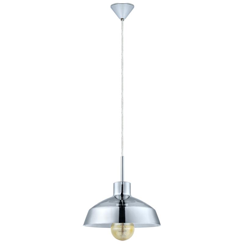 Подвесной  потолочный светильник 49264 EGLOподвесные<br>Подвес BRIXHAM, 1x60W (E27), ?245, пластик, хром/стекло, хром. Бренд - EGLO. материал плафона - стекло. цвет плафона - прозрачный. тип цоколя - E27. тип лампы - накаливания или LED. ширина/диаметр - 245. мощность - 60. количество ламп - 1.<br><br>популярные производители: EGLO<br>материал плафона: стекло<br>цвет плафона: прозрачный<br>тип цоколя: E27<br>тип лампы: накаливания или LED<br>ширина/диаметр: 245<br>максимальная мощность лампочки: 60<br>количество лампочек: 1