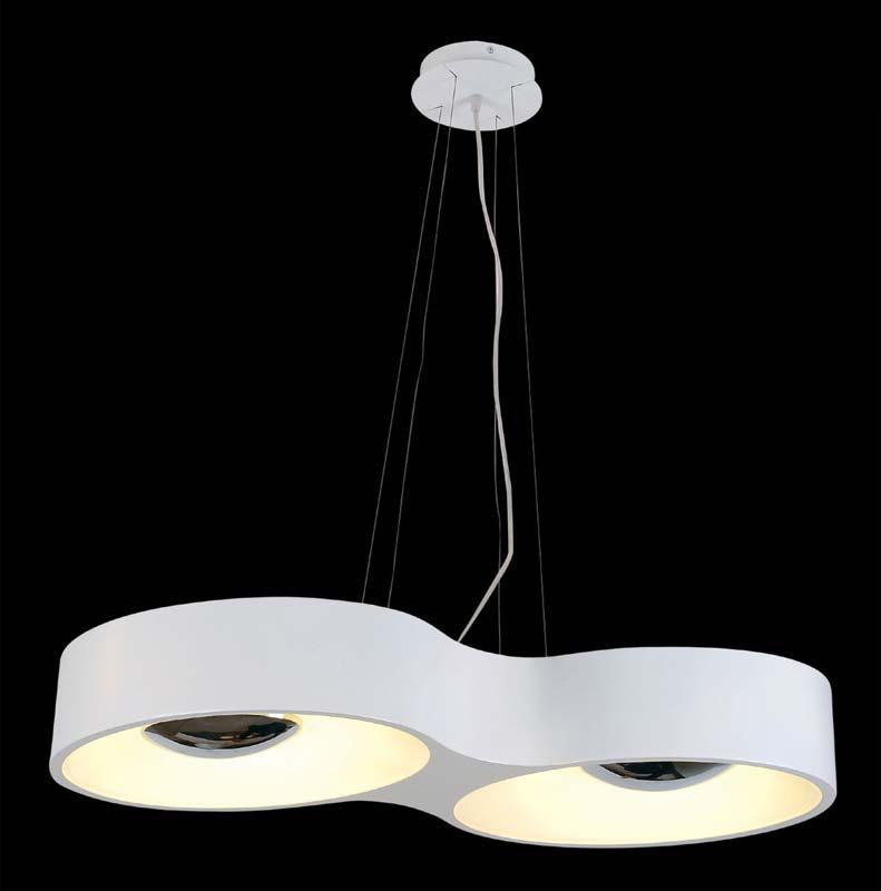 Подвесной  потолочный светильник SL889.503.04 ST-Luceподвесные<br>Светильник подвесной. Бренд - ST-Luce. материал плафона - стекло. цвет плафона - белый. тип цоколя - T5. тип лампы - КЛЛ. ширина/диаметр - 770. мощность - 22. количество ламп - 2.<br><br>популярные производители: ST-Luce<br>материал плафона: стекло<br>цвет плафона: белый<br>тип цоколя: T5<br>тип лампы: КЛЛ<br>ширина/диаметр: 770<br>максимальная мощность лампочки: 22<br>количество лампочек: 2