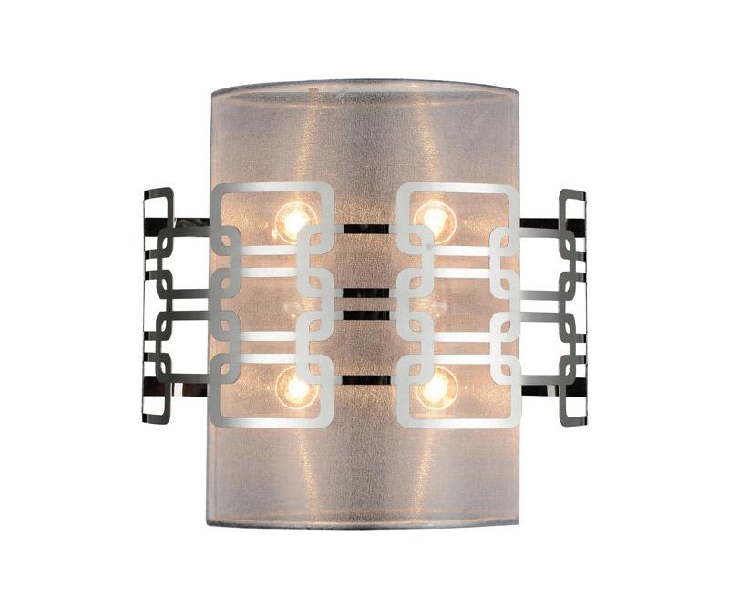 Бра SL940.101.04 ST-LuceНастенные и бра<br>Бра. Бренд - ST-Luce. материал плафона - ткань. цвет плафона - серый. тип цоколя - G9. тип лампы - галогеновая или LED. ширина/диаметр - 275. мощность - 40. количество ламп - 4.<br><br>популярные производители: ST-Luce<br>материал плафона: ткань<br>цвет плафона: серый<br>тип цоколя: G9<br>тип лампы: галогеновая или LED<br>ширина/диаметр: 275<br>максимальная мощность лампочки: 40<br>количество лампочек: 4
