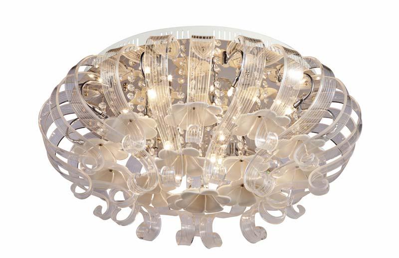 Потолочная люстра накладная SL735.102.18 ST-Luceнакладные<br>Светильник потолочный. Бренд - ST-Luce. материал плафона - стекло. цвет плафона - прозрачный. тип цоколя - G4. тип лампы - галогеновая или LED. ширина/диаметр - 700. мощность - 20. количество ламп - 18.<br><br>популярные производители: ST-Luce<br>материал плафона: стекло<br>цвет плафона: прозрачный<br>тип цоколя: G4<br>тип лампы: галогеновая или LED<br>ширина/диаметр: 700<br>максимальная мощность лампочки: 20<br>количество лампочек: 18