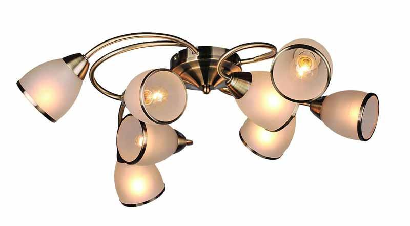 Потолочная люстра накладная OML-35927-08накладные<br>OML-35927-08. Бренд - Omnilux. тип лампы - накаливания или LED. количество ламп - 8. тип цоколя - E14. мощность - 60. цвет арматуры - бронзовый. цвет плафона - белый. материал арматуры - металл. материал плафона - стекло. высота - 200. ширина/диаметр - 740. форма - круг. стиль - модерн. страна происхождения - Китай. коллекция - Omnilux 358 - 359. напряжение - 220.<br><br>Бренд: Omnilux<br>тип лампы: накаливания или LED<br>количество ламп: 8<br>тип цоколя: E14<br>мощность: 60<br>цвет арматуры: бронзовый<br>цвет плафона: белый<br>материал арматуры: металл<br>материал плафона: стекло<br>высота: 200<br>ширина/диаметр: 740<br>форма: круг<br>стиль: модерн<br>страна происхождения: Китай<br>коллекция: Omnilux 358 - 359<br>напряжение: 220