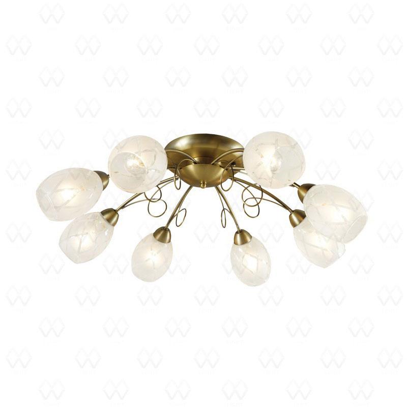 Потолочная люстра накладная 358011608 DeMarktнакладные<br>358011608. Бренд - DeMarkt. материал плафона - стекло. цвет плафона - белый. тип цоколя - E14. тип лампы - накаливания или LED. ширина/диаметр - 650. мощность - 60. количество ламп - 8.<br><br>популярные производители: DeMarkt<br>материал плафона: стекло<br>цвет плафона: белый<br>тип цоколя: E14<br>тип лампы: накаливания или LED<br>ширина/диаметр: 650<br>максимальная мощность лампочки: 60<br>количество лампочек: 8