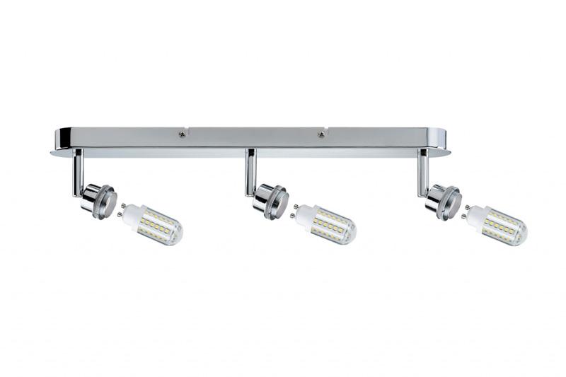 спот 60308 PaulmannСпоты<br>SL Deco LED Balken 3x3W GZ10 Chr. Бренд - Paulmann. тип цоколя - GU10. тип лампы - галогеновая или LED. ширина/диаметр - 65. мощность - 3. количество ламп - 3.<br><br>популярные производители: Paulmann<br>тип цоколя: GU10<br>тип лампы: галогеновая или LED<br>ширина/диаметр: 65<br>максимальная мощность лампочки: 3<br>количество лампочек: 3