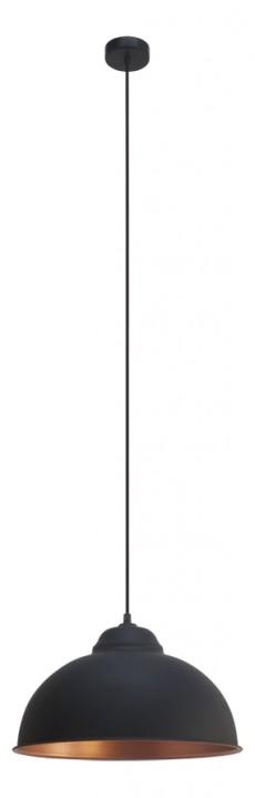 Подвесной  потолочный светильник 49247 EGLOподвесные<br>Подвес TRURO 2, 1х60W (E27), ?370, сталь, черный, медный. Бренд - EGLO. материал плафона - металл. цвет плафона - черный. тип цоколя - E27. тип лампы - накаливания или LED. ширина/диаметр - 370. мощность - 60. количество ламп - 1.<br><br>популярные производители: EGLO<br>материал плафона: металл<br>цвет плафона: черный<br>тип цоколя: E27<br>тип лампы: накаливания или LED<br>ширина/диаметр: 370<br>максимальная мощность лампочки: 60<br>количество лампочек: 1