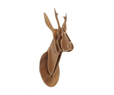 Декоративная голова оленя Brown Small DG-HOME от Дивайн Лайт