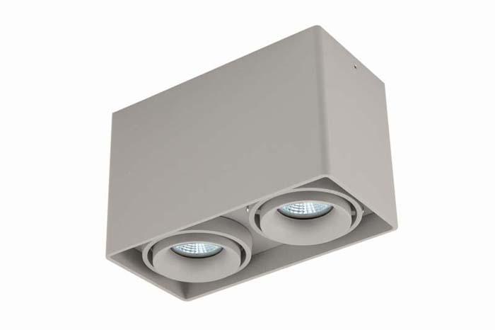 Накладной потолочный светильник DL18611/02WW-SQ Silver Grey Donoluxнакладные<br>Donolux Светильник накладной, MR16, макс.2х50Вт, GU10, IP20, Серебристо-серый, D186х93х120 мм, без л. Бренд - Donolux. материал плафона - металл. цвет плафона - серый. тип цоколя - GU10. тип лампы - галогеновая или LED. ширина/диаметр - 93. мощность - 50. количество ламп - 2.<br><br>популярные производители: Donolux<br>материал плафона: металл<br>цвет плафона: серый<br>тип цоколя: GU10<br>тип лампы: галогеновая или LED<br>ширина/диаметр: 93<br>максимальная мощность лампочки: 50<br>количество лампочек: 2