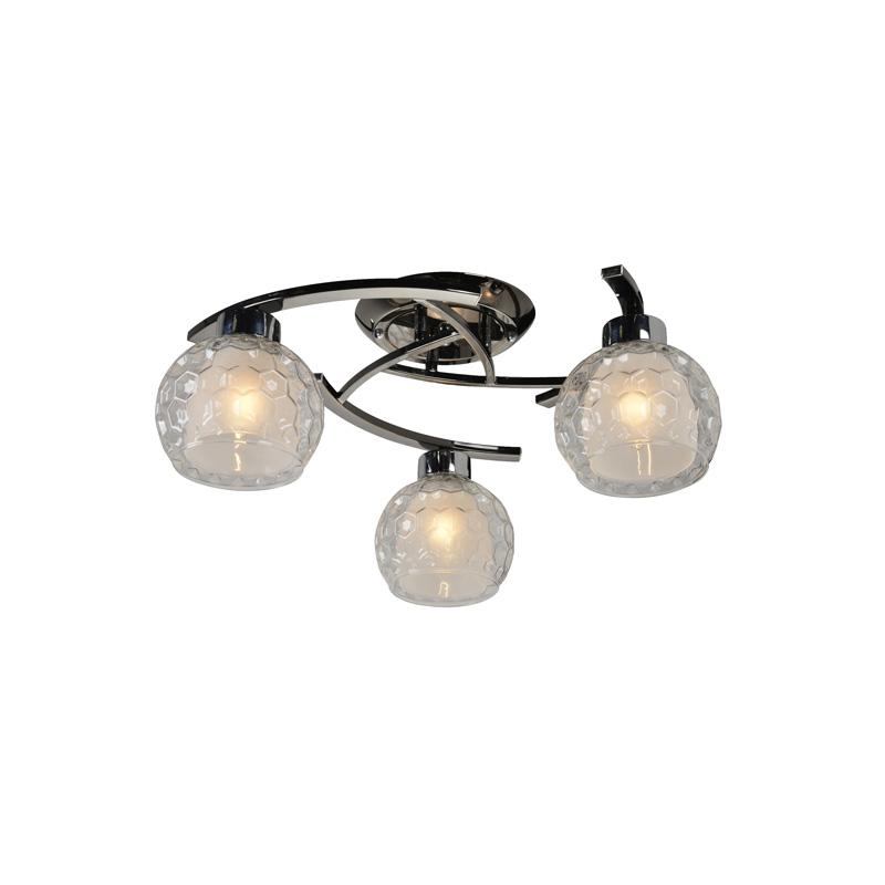 Потолочная люстра накладная 875/3PF-Darkchrome IDLampнакладные<br>Потолочный. Бренд - IDLamp. материал плафона - стекло. цвет плафона - белый. тип цоколя - E27. тип лампы - накаливания или LED. ширина/диаметр - 520. мощность - 60. количество ламп - 3.<br><br>популярные производители: IDLamp<br>материал плафона: стекло<br>цвет плафона: белый<br>тип цоколя: E27<br>тип лампы: накаливания или LED<br>ширина/диаметр: 520<br>максимальная мощность лампочки: 60<br>количество лампочек: 3