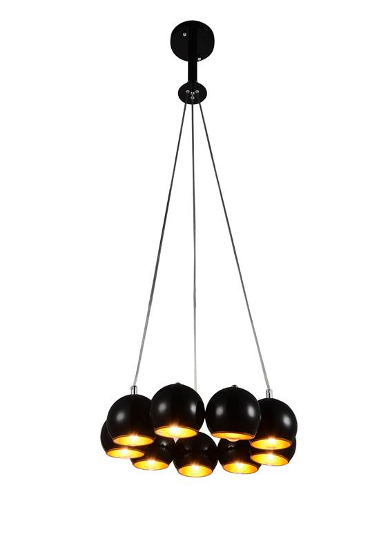 Потолочная люстра подвесная SL854.243.09 ST-Luceподвесные<br>Люстра подвесная. Бренд - ST-Luce. материал плафона - металл. цвет плафона - черный. тип цоколя - E14. тип лампы - накаливания или LED. ширина/диаметр - 470. мощность - 40. количество ламп - 9.<br><br>популярные производители: ST-Luce<br>материал плафона: металл<br>цвет плафона: черный<br>тип цоколя: E14<br>тип лампы: накаливания или LED<br>ширина/диаметр: 470<br>максимальная мощность лампочки: 40<br>количество лампочек: 9