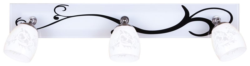 спот 223-101-03 VELANTEСпоты<br>настенный. Бренд - VELANTE. материал плафона - стекло. цвет плафона - белый. тип цоколя - G9. тип лампы - галогеновая или LED. ширина/диаметр - 500. мощность - 40. количество ламп - 3.<br><br>популярные производители: VELANTE<br>материал плафона: стекло<br>цвет плафона: белый<br>тип цоколя: G9<br>тип лампы: галогеновая или LED<br>ширина/диаметр: 500<br>максимальная мощность лампочки: 40<br>количество лампочек: 3