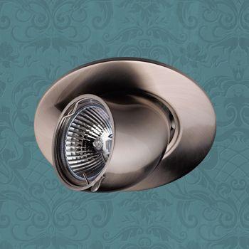 Точечный светильник 369163 Novotechвстраиваемые<br>369163 NT09 302 никель Встраиваемый ПВ GX5.3 50W 12V BEST. Бренд - Novotech. тип цоколя - GX5.3. тип лампы - галогеновая или LED. ширина/диаметр - 111. мощность - 50. количество ламп - 1.<br><br>популярные производители: Novotech<br>тип цоколя: GX5.3<br>тип лампы: галогеновая или LED<br>ширина/диаметр: 111<br>максимальная мощность лампочки: 50<br>количество лампочек: 1