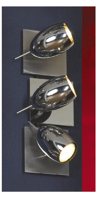 спот LSN-4301-03 LussoleСпоты<br>LSN-4301-03. Бренд - Lussole. материал плафона - металл. цвет плафона - хром. тип цоколя - GU10. тип лампы - галогеновая или LED. ширина/диаметр - 120. мощность - 7. количество ламп - 3.<br><br>популярные производители: Lussole<br>материал плафона: металл<br>цвет плафона: хром<br>тип цоколя: GU10<br>тип лампы: галогеновая или LED<br>ширина/диаметр: 120<br>максимальная мощность лампочки: 7<br>количество лампочек: 3