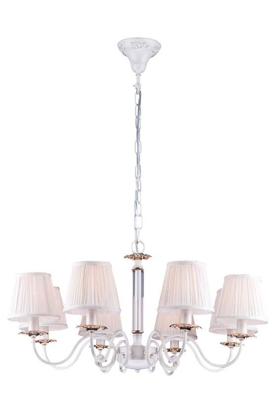 Потолочная люстра подвесная A2065LM-8WG ARTE Lampподвесные<br>A2065LM-8WG. Бренд - ARTE Lamp. материал плафона - ткань. цвет плафона - белый. тип цоколя - E14. тип лампы - накаливания или LED. ширина/диаметр - 800. мощность - 60. количество ламп - 8.<br><br>популярные производители: ARTE Lamp<br>материал плафона: ткань<br>цвет плафона: белый<br>тип цоколя: E14<br>тип лампы: накаливания или LED<br>ширина/диаметр: 800<br>максимальная мощность лампочки: 60<br>количество лампочек: 8