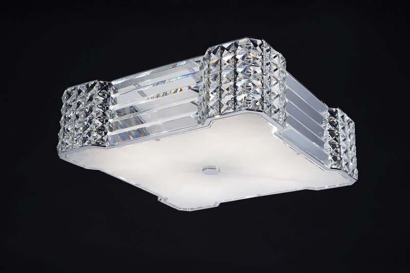 Потолочная люстра накладная SL778.102.04 ST-Luceнакладные<br>Светильник потолочный. Бренд - ST-Luce. материал плафона - хрусталь. цвет плафона - прозрачный. тип цоколя - G9. тип лампы - галогеновая или LED. ширина/диаметр - 390. мощность - 53. количество ламп - 4.<br><br>популярные производители: ST-Luce<br>материал плафона: хрусталь<br>цвет плафона: прозрачный<br>тип цоколя: G9<br>тип лампы: галогеновая или LED<br>ширина/диаметр: 390<br>максимальная мощность лампочки: 53<br>количество лампочек: 4