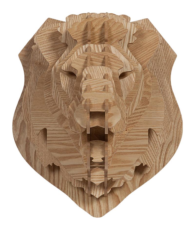 Декоративная голова льва Barlok Sand DG-HOME от Дивайн Лайт