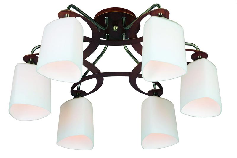 Потолочная люстра накладная OML-26817-06 Omniluxнакладные<br>OML-26817-06. Бренд - Omnilux. материал плафона - стекло. цвет плафона - белый. тип цоколя - E14. тип лампы - накаливания или LED. ширина/диаметр - 600. мощность - 40. количество ламп - 5.<br><br>популярные производители: Omnilux<br>материал плафона: стекло<br>цвет плафона: белый<br>тип цоколя: E14<br>тип лампы: накаливания или LED<br>ширина/диаметр: 600<br>максимальная мощность лампочки: 40<br>количество лампочек: 5