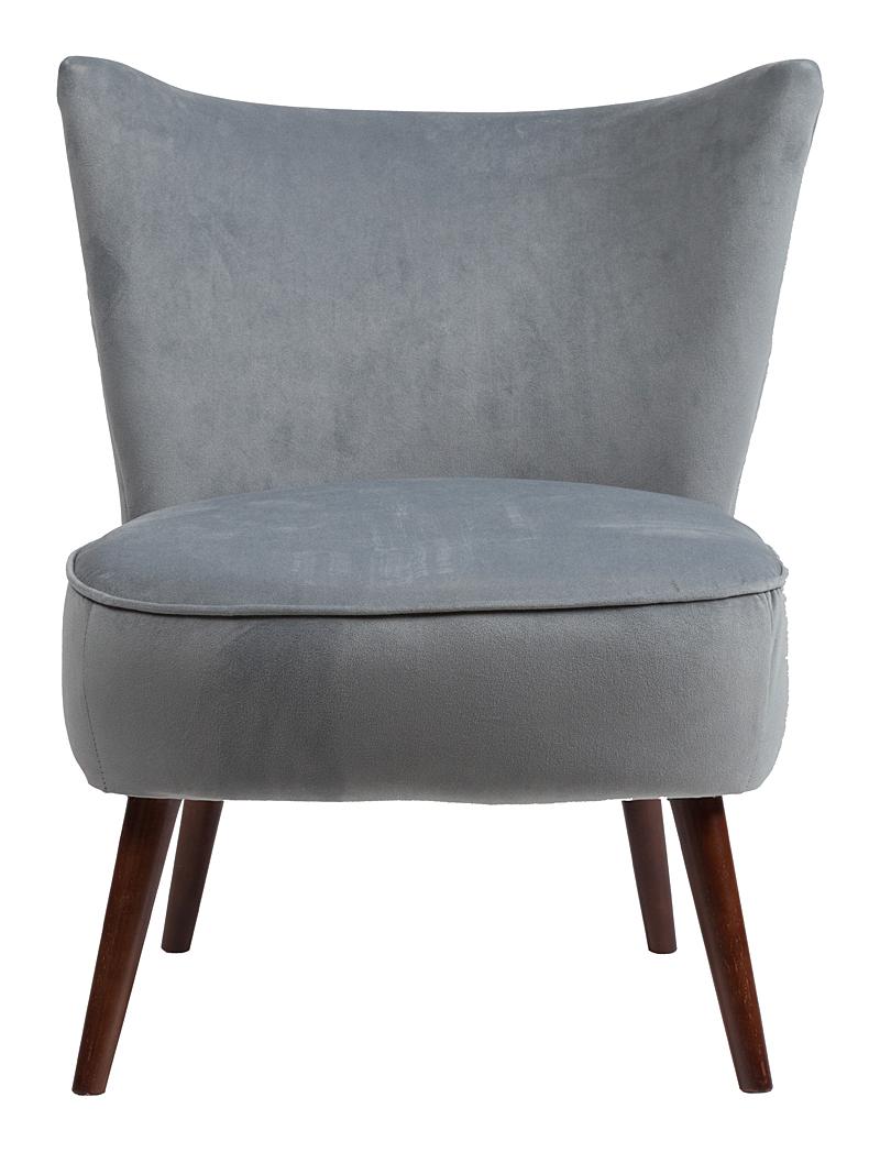 Кресло Vermont Chair Серо-синий Полиэстер DG-HOMEКресла<br>. Бренд - DG-HOME. материал - Ткань, Поролон, Дерево.<br><br>популярные производители: DG-HOME<br>ширина/диаметр: 0<br>материал: Ткань, Поролон, Дерево