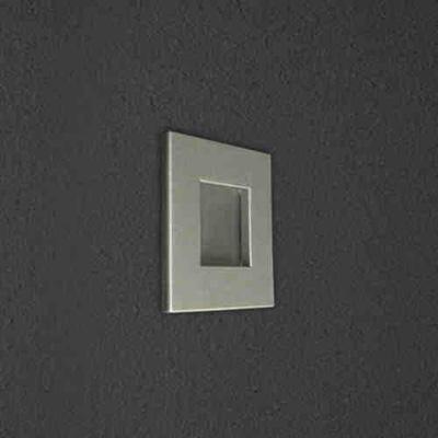 Светильник для подсветки Window Mini Led 540.02 green SDM LuceПодсветка стен и ступеней<br>Светодиодный светильник, 350mA, 1,2W,  42mm X 42mm X 50mm, монтажное отверстие D 36 mm, Зеленый. Бренд - SDM Luce.<br><br>популярные производители: SDM Luce