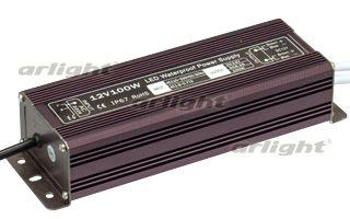 блок питания DC 017256 Arlightблоки питания DC<br>Блок питания 12V, ток 8.3А, 100Вт, герметичный, для светодиодных изделий. Алюминиевый корпус. Габариты L210xW68xH44mm. Вход 170-250V AC, выход 12V DC +-0.5V. Вес 1100гр. Гарантия 2 года.. Бренд - Arlight. ширина/диаметр - 68. мощность - 100.<br><br>популярные производители: Arlight<br>ширина/диаметр: 68<br>максимальная мощность лампочки: 100