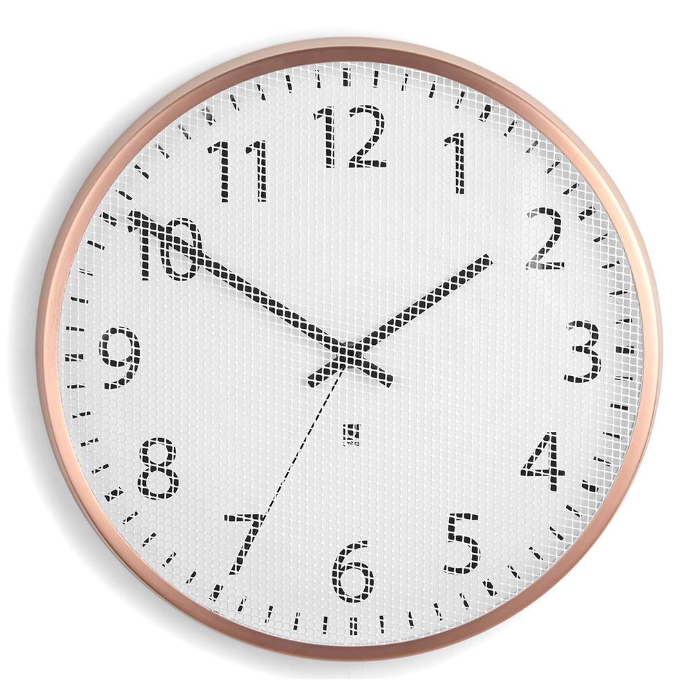 Часы настенные perftime медь Umbra от Дивайн Лайт