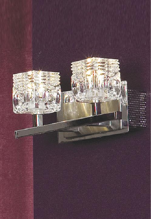 Бра LSA-7901-02 LussoleНастенные и бра<br>LSA-7901-02. Бренд - Lussole. материал плафона - стекло. цвет плафона - прозрачный. тип цоколя - G4. тип лампы - галогеновая или LED. ширина/диаметр - 220. мощность - 20. количество ламп - 2.<br><br>популярные производители: Lussole<br>материал плафона: стекло<br>цвет плафона: прозрачный<br>тип цоколя: G4<br>тип лампы: галогеновая или LED<br>ширина/диаметр: 220<br>максимальная мощность лампочки: 20<br>количество лампочек: 2