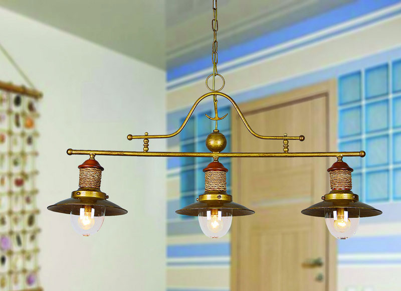 Подвесной  потолочный светильник 1216-3P от Дивайн Лайт