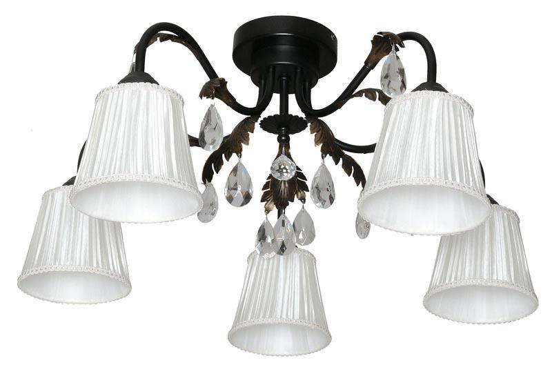 Потолочная люстра накладная 10022-5C Авроранакладные<br>потолочный светильник. Бренд - Аврора. материал плафона - ткань. цвет плафона - белый. тип цоколя - E14. тип лампы - накаливания или LED. ширина/диаметр - 580. мощность - 60. количество ламп - 5.<br><br>популярные производители: Аврора<br>материал плафона: ткань<br>цвет плафона: белый<br>тип цоколя: E14<br>тип лампы: накаливания или LED<br>ширина/диаметр: 580<br>максимальная мощность лампочки: 60<br>количество лампочек: 5
