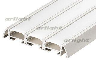 Алюминиевый анодированный тройной литой микропрофиль (триада), без экрана, для 3-х светодиодных лент Arlight