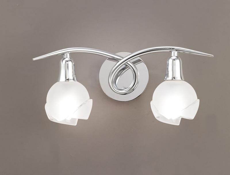 Бра 0987 MantraНастенные и бра<br>WALL LAMP 2L. Бренд - Mantra. материал плафона - стекло. цвет плафона - белый. тип цоколя - E14. тип лампы - накаливания или LED. ширина/диаметр - 130. мощность - 9. количество ламп - 2.<br><br>популярные производители: Mantra<br>материал плафона: стекло<br>цвет плафона: белый<br>тип цоколя: E14<br>тип лампы: накаливания или LED<br>ширина/диаметр: 130<br>максимальная мощность лампочки: 9<br>количество лампочек: 2