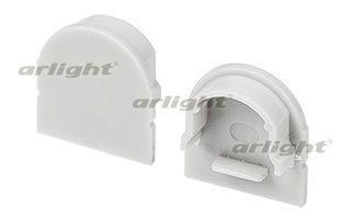 Заглушка ARH-WIDE-H20 Round глухая Arlightкомплектующие<br>Заглушка (глухая) для профиля ARH-WIDE-H20 с экраном ARH-WIDE-B-H20-2000 Round. Материал - PVC серый.. Бренд - Arlight.<br><br>популярные производители: Arlight