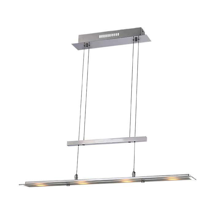 Подвесной  потолочный светильник 68104-4H Globoподвесные<br>68104-4H. Бренд - Globo. материал плафона - стекло. цвет плафона - прозрачный. тип лампы - LED. ширина/диаметр - 90. мощность - 3. количество ламп - 4.<br><br>популярные производители: Globo<br>материал плафона: стекло<br>цвет плафона: прозрачный<br>тип лампы: LED<br>ширина/диаметр: 90<br>максимальная мощность лампочки: 3<br>количество лампочек: 4