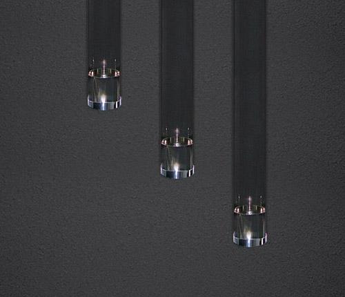 Накладной потолочный светильник Glass Tube 400 555.00 SDM Luce от Дивайн Лайт