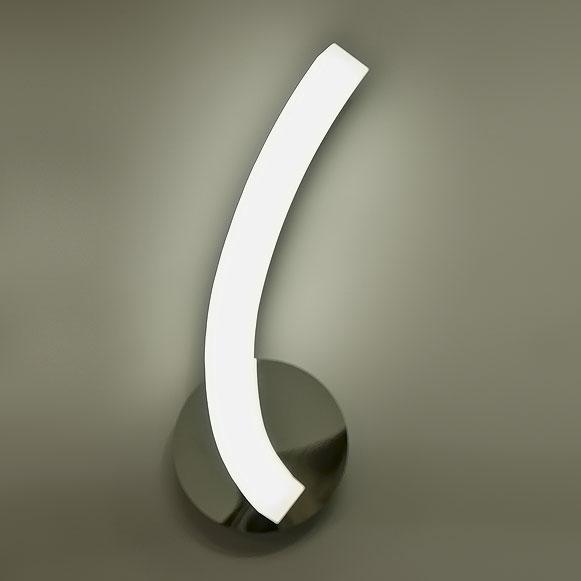 Бра 3566 MantraНастенные и бра<br>CHROME. Бренд - Mantra. материал плафона - стекло. цвет плафона - белый. тип лампы - LED. ширина/диаметр - 120. мощность - 5. количество ламп - 1.<br><br>популярные производители: Mantra<br>материал плафона: стекло<br>цвет плафона: белый<br>тип лампы: LED<br>ширина/диаметр: 120<br>максимальная мощность лампочки: 5<br>количество лампочек: 1