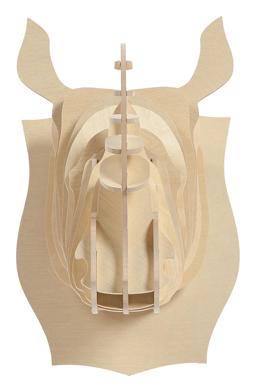 Декоративная голова носорога Danseur Ivory DG-HOME от Дивайн Лайт