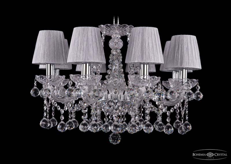 Потолочная люстра подвесная 1413/8/200/Ni/Balls/SH6 Bohemia Ivele Crystalподвесные<br>Люстра. Бренд - Bohemia Ivele Crystal. материал плафона - ткань. цвет плафона - серый. тип цоколя - E14. тип лампы - накаливания или LED. ширина/диаметр - 570. мощность - 40. количество ламп - 8.<br><br>популярные производители: Bohemia Ivele Crystal<br>материал плафона: ткань<br>цвет плафона: серый<br>тип цоколя: E14<br>тип лампы: накаливания или LED<br>ширина/диаметр: 570<br>максимальная мощность лампочки: 40<br>количество лампочек: 8