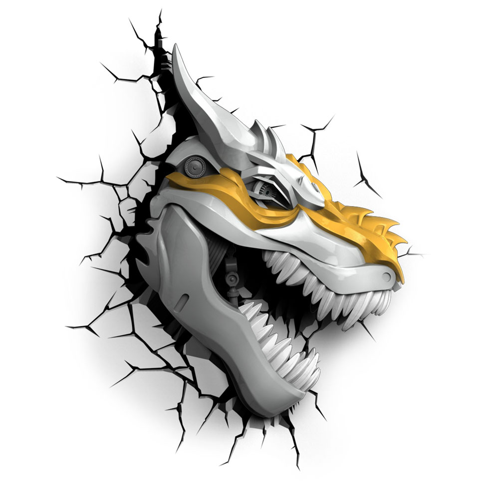 3DLIGHT Светильник ночник TRNSFMR- Grimlock (Гримлок)