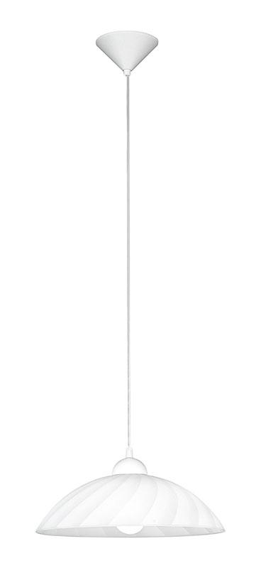 Подвесной  потолочный светильник 82785 EGLOподвесные<br>Подвес VETRO, 1X60W (E27), IP20 . Бренд - EGLO. материал плафона - стекло. цвет плафона - белый. тип цоколя - E27. тип лампы - накаливания или LED. ширина/диаметр - 350. мощность - 100. количество ламп - 1.<br><br>популярные производители: EGLO<br>материал плафона: стекло<br>цвет плафона: белый<br>тип цоколя: E27<br>тип лампы: накаливания или LED<br>ширина/диаметр: 350<br>максимальная мощность лампочки: 100<br>количество лампочек: 1